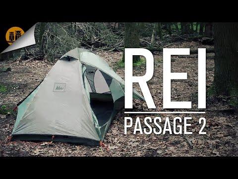 REI Passage • 2 Person – 3 Season Tent • Field Review & Setup