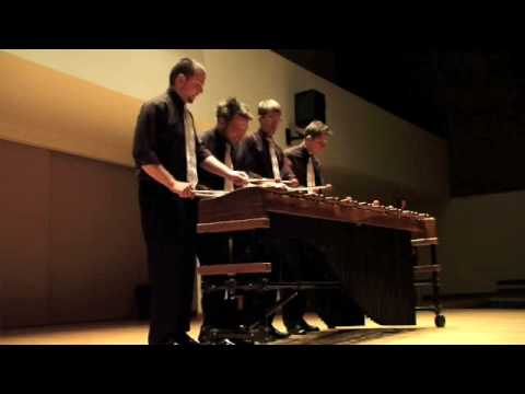 TorQ Percussion Quartet plays Martian Tribes, by E.Sejourne