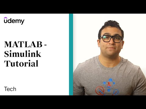 MATLAB - Simulink Tutorial for Beginners | Udemy instructor, Dr. Ryan Ahmed