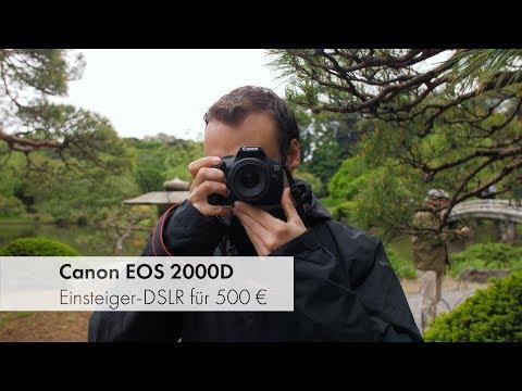 Canon EOS 2000D | Einsteiger-DSLR im Test [Deutsch]
