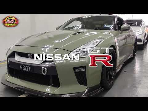 Nissan GTR Big Screen Android Monitor