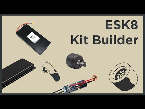 How to Choose DIY Electric Skateboard Parts - Introducing the ESK8 Kit Builder
