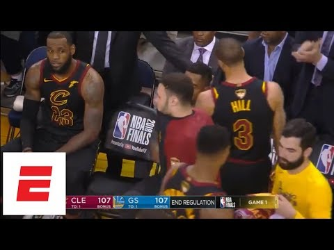 Best moments from Golden State Warriors vs. Cleveland Cavaliers [Game 1, 2018 NBA Finals] | ESPN