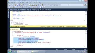SQL Server 2012 - Loading XML Documents