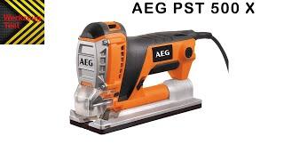Werkzeug Test - Stichsäge AEG PST 500 X