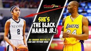 LAKAS MAGLARO NG ANAK NI KOBE BRYANT!  PARANG DI BABAE GUMALAW | BLACK MAMBA JR!