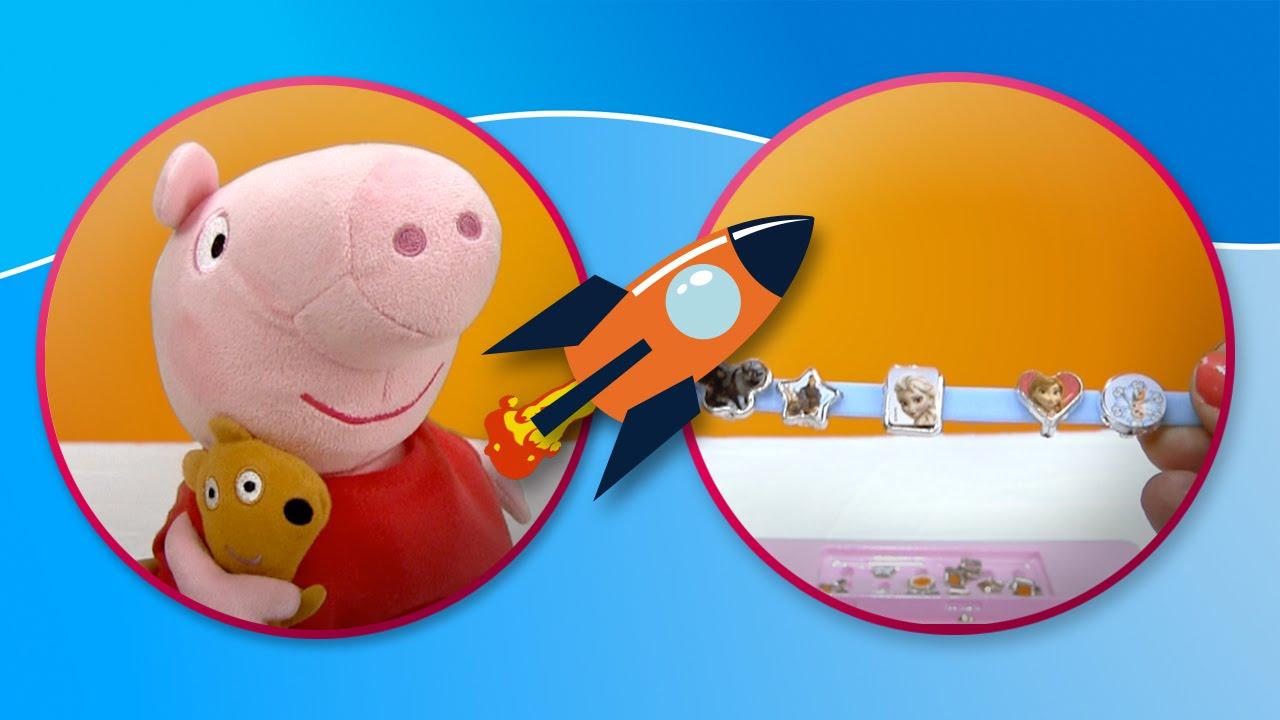 Peppa Pig y las pulseras de Frozen en Tateti Toys