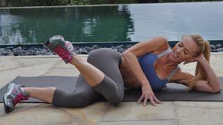 Best Butt & Leg Toning Workout Beginner/Intermediate 23 Min by GymRa Plus
