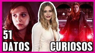 51 Curiosidades Que NO CONOCÍAS Sobre Elizabeth Olsen (Infinity War - Civil War - Age Of Ultron)