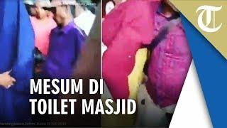 Viral Video Detik-detik Warga Giring Sejoli Mesum di Toilet Masjid