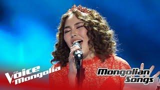 "Enguun - ""Chi nad shig durlaj chadakh uu?"" | The Quarter Final | The Voice of Mongolia 2018"