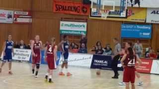 preview picture of video 'TSV Wasserburg gegen den TC Herne - Erstes Heimspiel 2013  auf neuem Hallenboden'