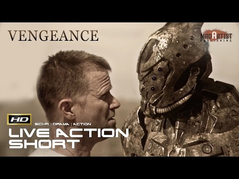 "Live Action CGI VFX Animated Short ""VENGEANCE"" Sci-Fi Action film by Julian Fitzpatrick"