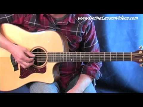 Amazing Grace - Solo Acoustic Guitar Lesson - arr. by Steve Johnston