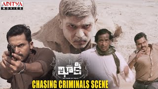 Gambar cover Khakee Movie Scenes   Karthi Chasing Criminals   Karthi, Rakul Preet   H.Vinoth