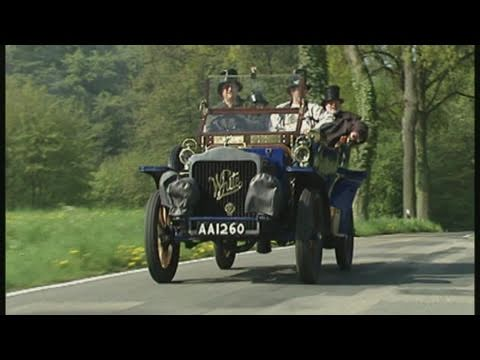 The Steam Car Race | Classic Cars