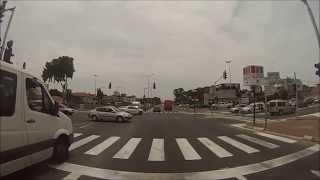 preview picture of video 'כביש 4 מצומת נחל חדרה עד צומת הרואה - Road 4 from Nahal Hadera Junction to Haroeh Junction'