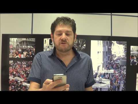 Sérgio Antiqueira fala sobre orientações  para GREVE