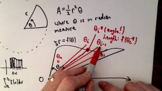 Thanks to Vlogbrothers for their sponsorship of this video!In this video I show how to derive the formula used in Calculus to find the area of a region using polar coordinates.