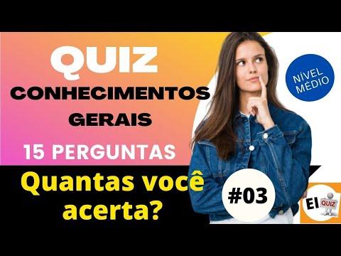 DESAFIO QUIZ DE CONHECIMENTOS GERAIS   NVEL MDIO #3