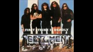 10)TESTAMENT-Reign Of Terror-First Strike Is Deadly Live(Rare)