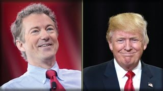 BOOM! TRUMP JUST TEAMED UP WITH RAND PAUL TO FINALLY DRAIN THE SWAMP!