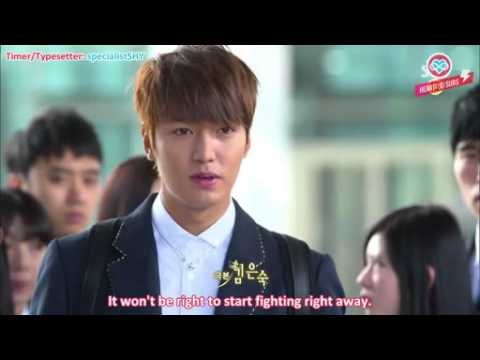 ENG SUB f(x) Krystal The Heirs ep 6 cut