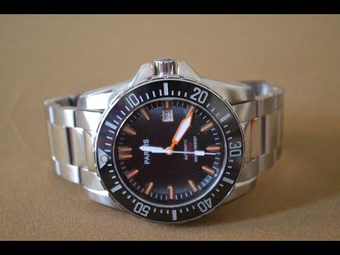 Reloj parnis 200 m watch