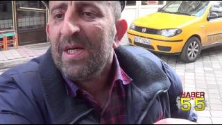 TRAFİK POLİSİNİN SABRINI TAŞIRDI YUMRUĞU YEDİ...