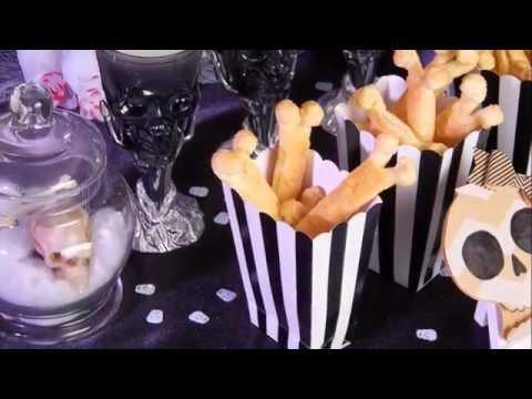 Des os feuilletés, votre snack d'Halloween !