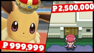 What Are The Most Expensive Things You can Buy in Pokemon Games?
