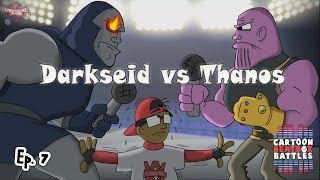 Darkseid Vs Thanos - Cartoon Beatbox Battles