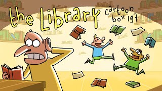 The Library | Cartoon Box 197 | By FRAME ORDER | Hilarious Dark Animated Cartoons
