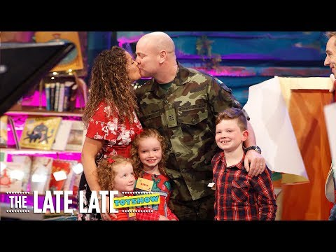 Family Reunion Surprise | The Late Late Toy Show | RTÉ One