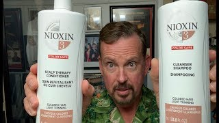 Nioxin Shampoo-a treatment to stop thinning hair & hair loss. A requested 2019 update