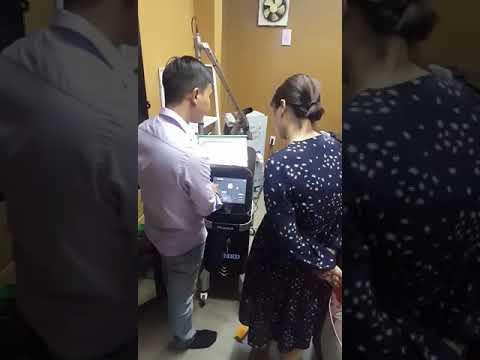 Sửa máy laser xóa xăm tại Sài Gòn