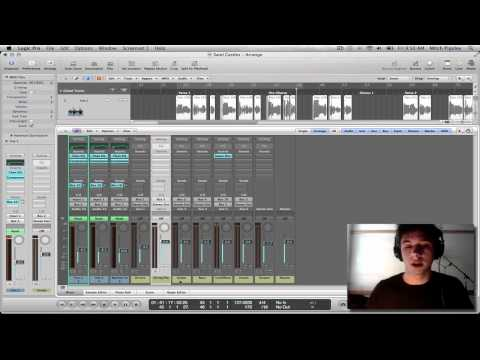 Logic Pro 9 Tutorial – Vocal Production (Beginning to End) #2