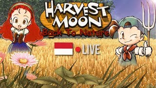 [LIVE] SIAPA YANG KANGEN ???????!! HARVEST MOON BACK TO NATURE INDONESIA #1 !!