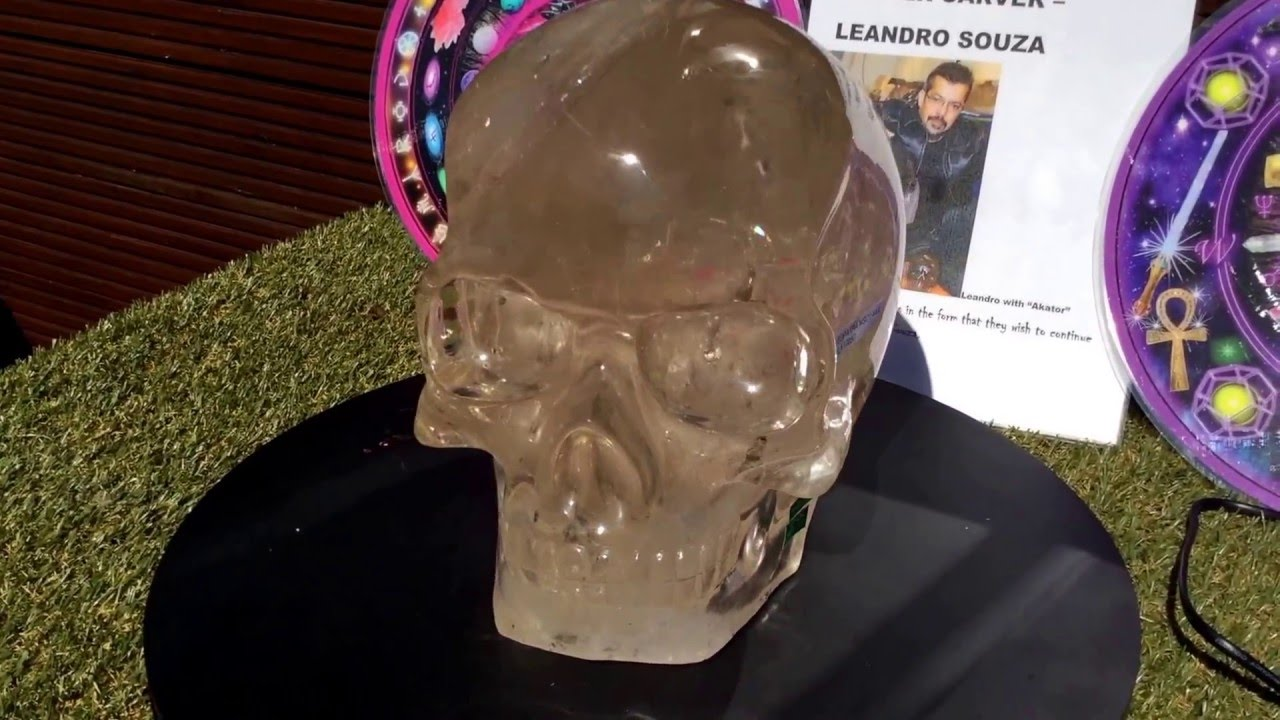 CLEOPATRA – World class 14.4 kilos natural citrine skull on a mission to find her guardian!