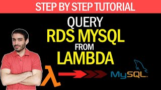 How to Query RDS MySQL From AWS Lambda in Python | Step by Step Tutorial