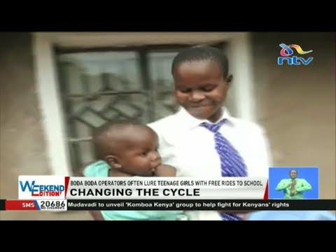 Two mother students get a second chance in the face of unwanted pregnancies