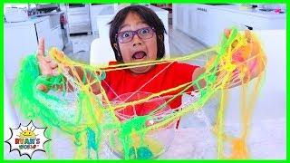 Easy DIY Slime String Science Experiment for Kids!!!!