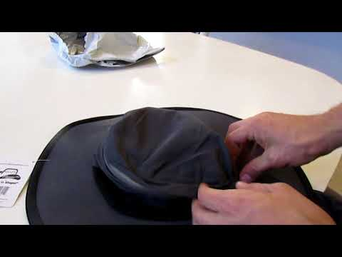 Indiegogo Shape Flexer Sunhat Unboxing and Review