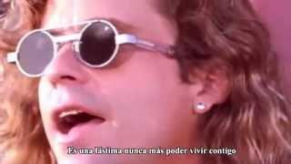 Damn Yankees - High Enoug (Subtítulos)