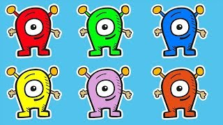 Учим цвета- для детей Цвета для детей Сборник мультиков про цвета