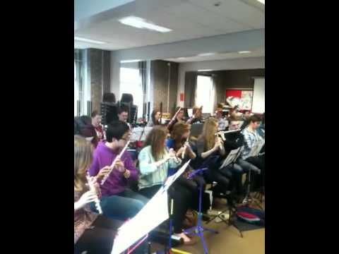 NYO 2012 woodwind section plays Queen