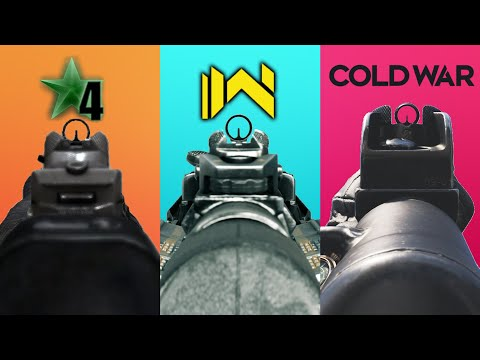 Evolution Of The MP5 In Call of Duty