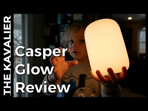 "First Look: The Casper ""Glow"" LED Smart Light"