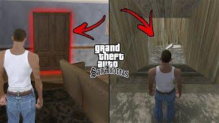 Unlocked Secret Doors in the CJ's House in GTA San Andreas! (Hidden Places)