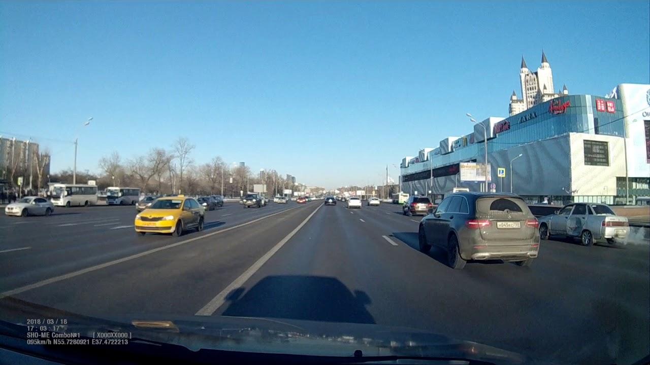 Смертельное ДТП на Кутузовском проспекте в Москве